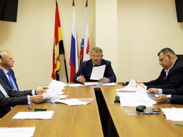 В поселении состоялся совет депутатов