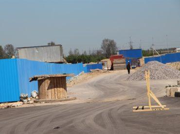 Строительство дороги в Кудрово