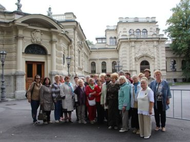 Жители поселения увидели великокняжеские дворцы