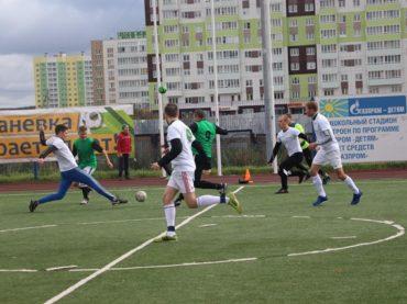 Корпоративный футбол в Заневском поселении