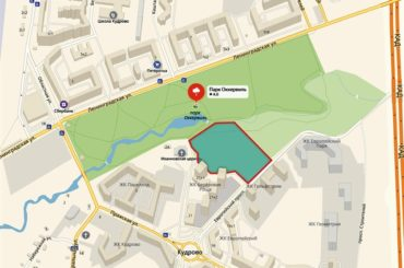 Березовая роща станет частью парка «Оккервиль»