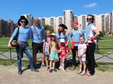 Кудровских малышей посвятили в пираты
