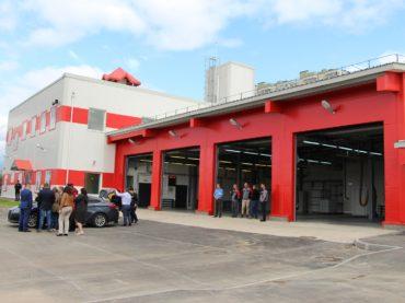 В Кудрово — ещё одно пожарное депо