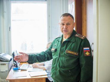 Районный военкомат открыл свои двери
