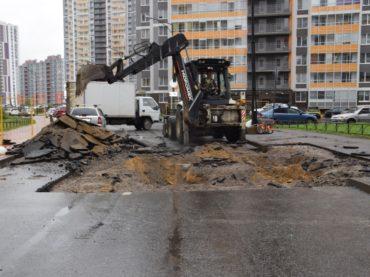 Восстановление дороги на Столичной займет две недели
