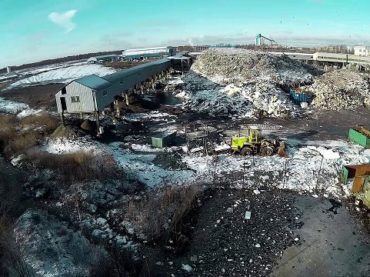 Где МПБО-2 хранит мусор петербуржцев ?