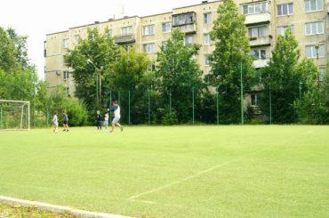 На футбольном поле в Заневке появится новое покрытие