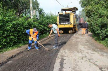 В Заневском поселении продолжается ремонт дорог