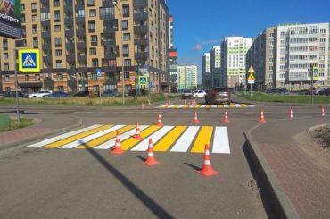 В муниципалитете обновляют дорожные знаки
