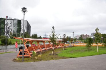 В Ленобласти обновили один из самых популярных парков