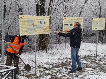 Стенды с информацией о ВОВ установлены в Новосергиевке