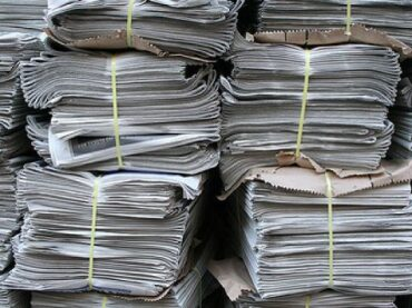 А у нас бумажный бум