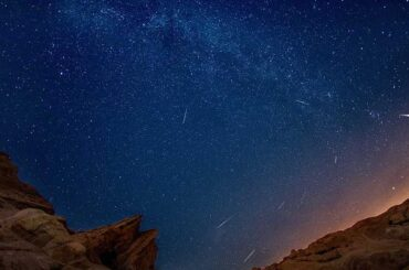 В Ленинградской области можно загадывать желания на падающие звезды