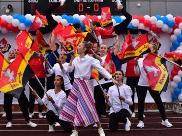 День в истории: ровно год назад состоялось торжественное открытие нового стадиона в Янино-1