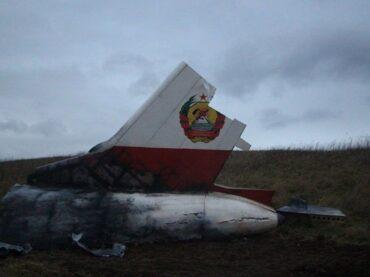На Колтушских высотах – обломки самолета